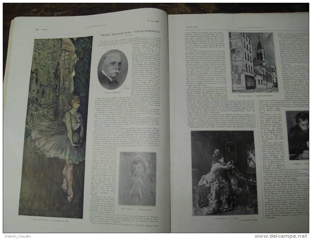 +1926 Révolution PORTUGAL ;Pologne ;Collection DECOURCELLE ;Salon Art Déco ; Prix De ROME ;Théâtre JUIF ; SOUDAN ; Golf - Newspapers