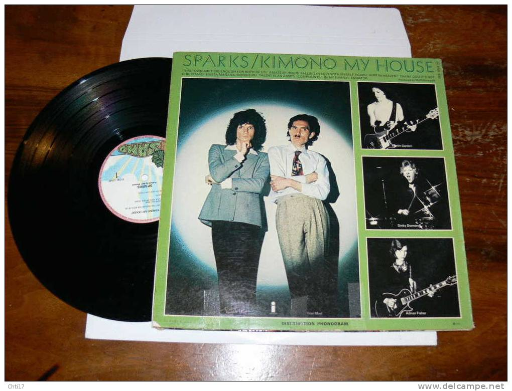 SPARKS KIMONO MY HOUSE   EDIT  PHONOGRAM - Disco, Pop