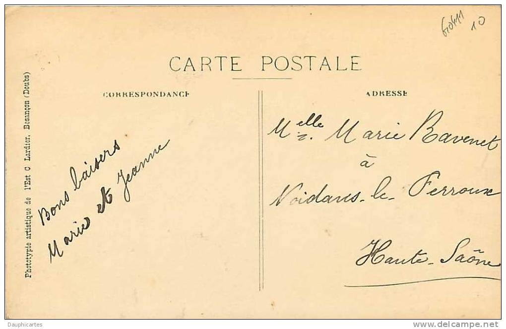 LIESLE : Fontaine De La Grande Rue. 2 Scans. Edition Cadet - Non Classés