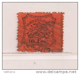 ITALIE   ( D11DV - 7304 )  1867   N° YVERT ET TELLIER  ETATS PONTIFICAUX  N° 22 - Etats Pontificaux