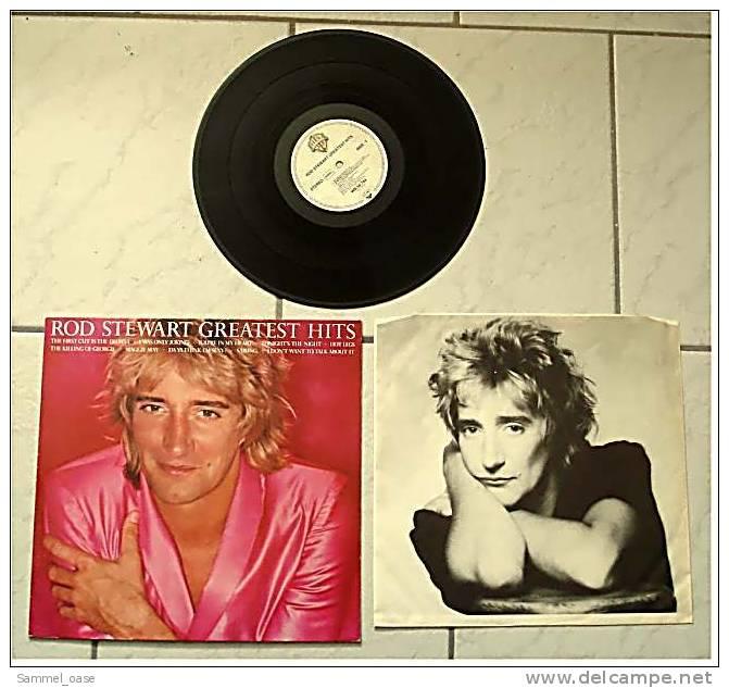LP  Rod Stewart  -  Greatest Hits  -  Von Warner Bros  -  WB 56 744 - Von 1979 - Disco, Pop