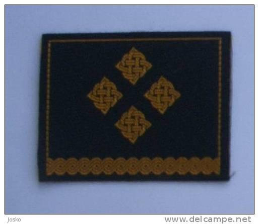 CROATIAN ARMY - CAPTAIN ( Croatia Army Rank ) Capitaine Capitán Capitano Capitão * Grade Militaire Grado Militar Ranks - Uniforms
