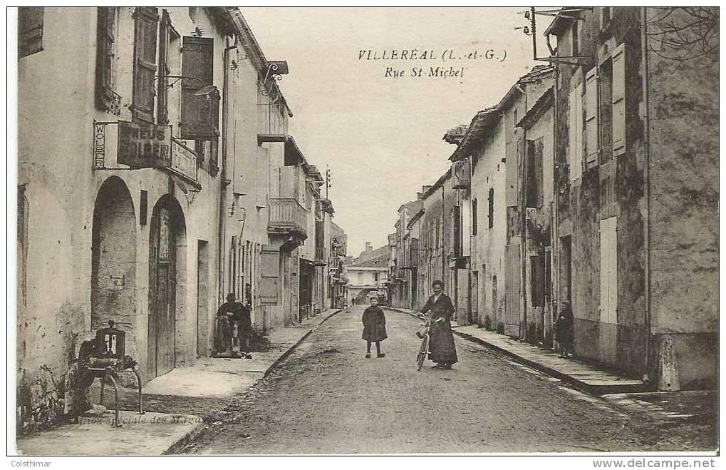 VILLEREAL RUE SAINT MICHEL - France