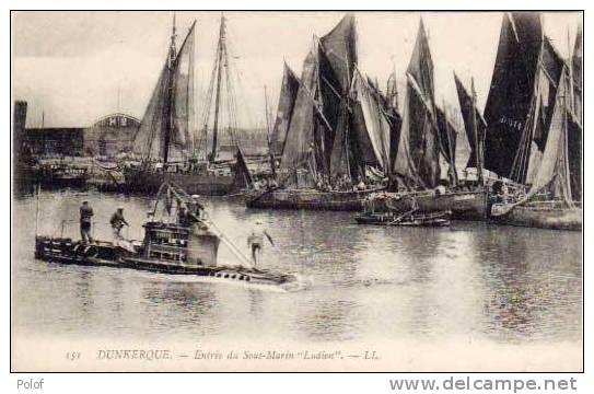 """Entree Du Sous-marin """"LUDION""""  (25588) - Oorlog"""