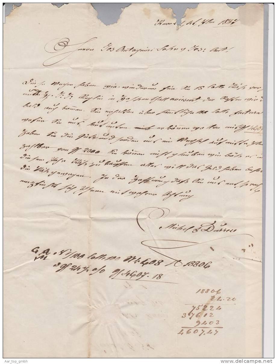 CH OW Obwalden 1847-09-07 Rot Lang-O N.Magadino - Suisse