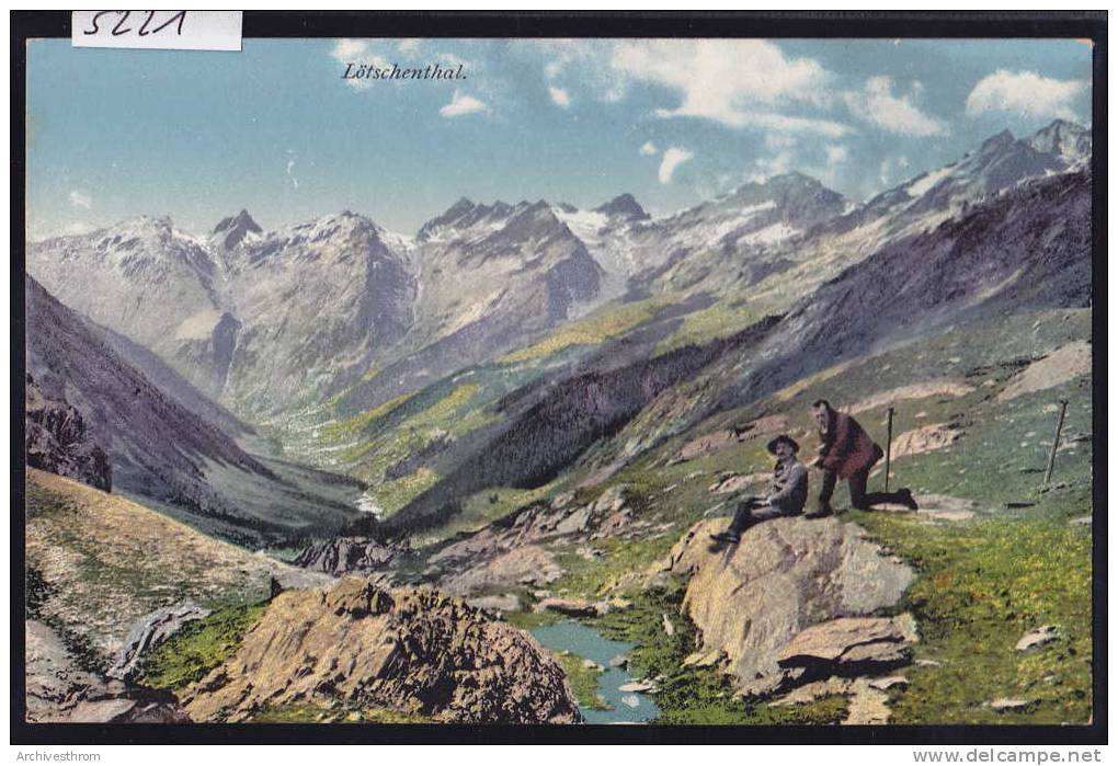 Lötschental - Lötschenthal (5221) - VS Wallis