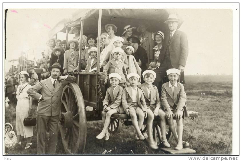 ELSENBORN - Photo Carte  - Concours Hippique Du 8 Août 1934 (y135)b66 - Elsenborn (camp)