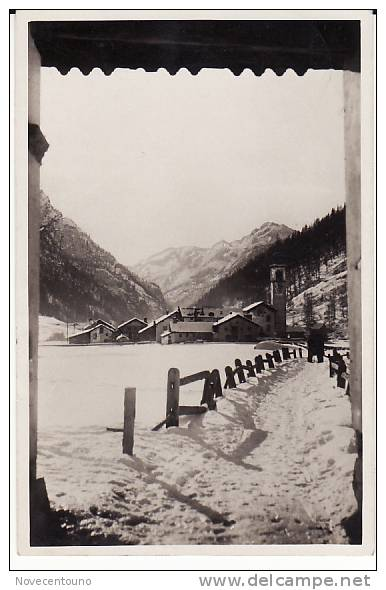 Valle D´Aosta - Aosta  - Gressoney La  Trinité - - Aosta