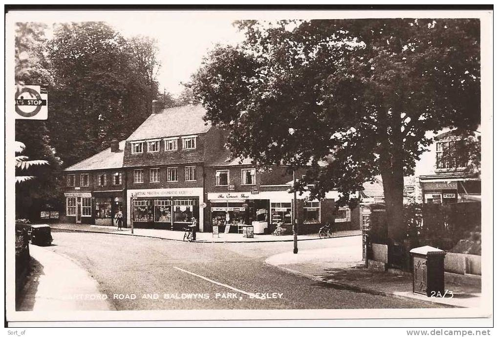 RP - BEXLEY - DARTFORD ROAD AND BALDWYNS PARK (SMALL ANIMATION) - A839 - London Suburbs