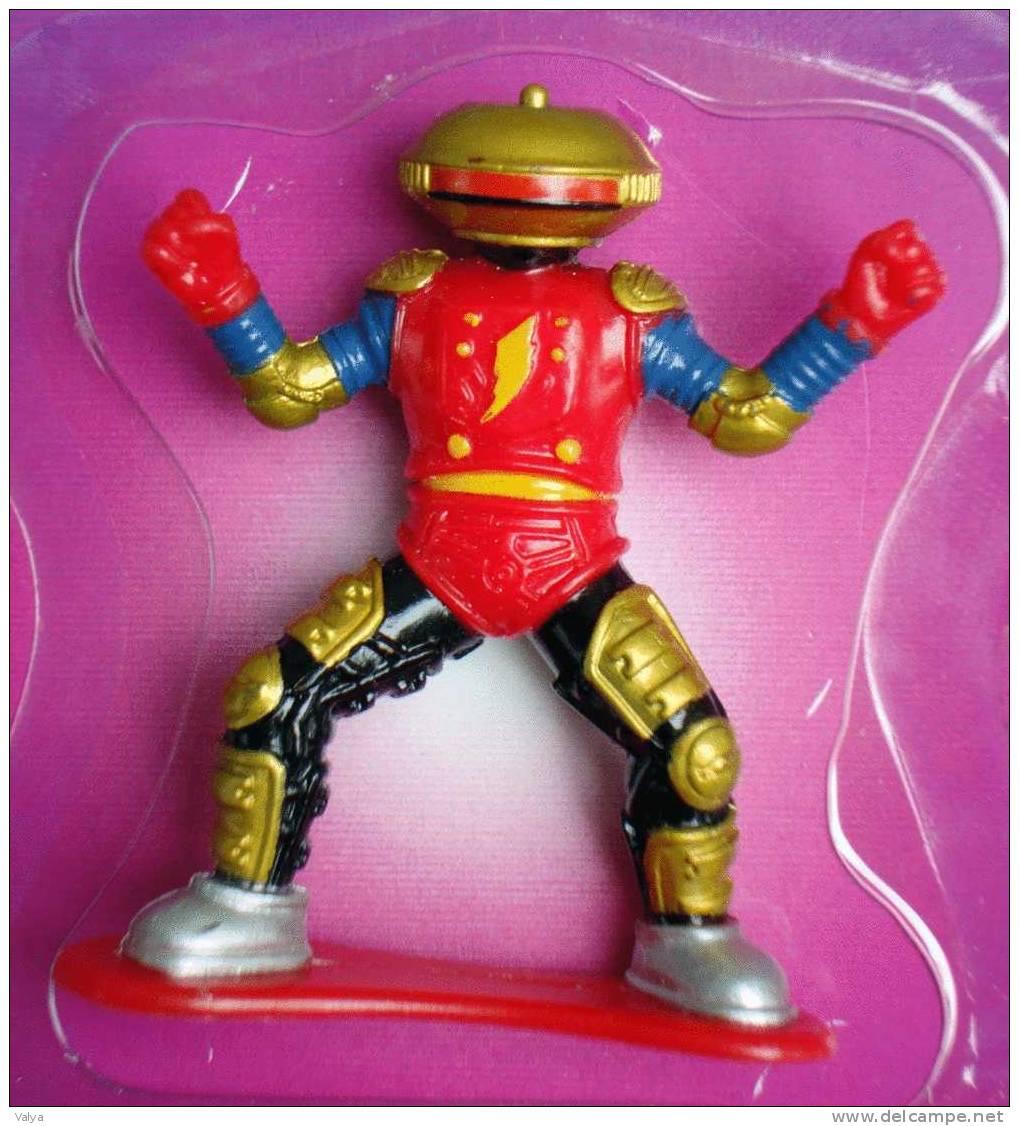 6 Figurines POWER RANGERS Les EXTRA TERRESTRES - Power Rangers