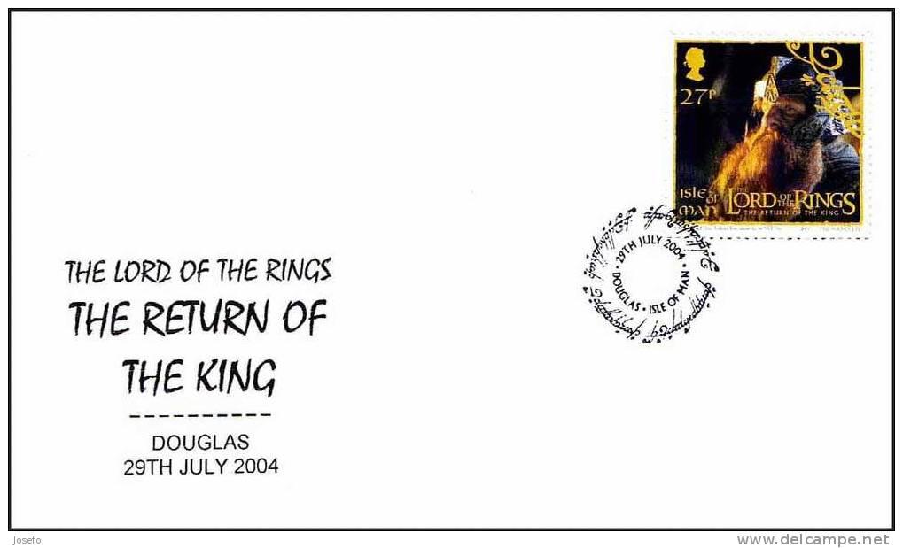 THE RETURN OF THE KING - The Lord Of The Rings - El Retorno Del Rey - Isla De Man 2004 - Cinema