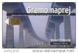 SLOVENIA - SLV 204, Gremo Naprej /December, 5/99, 9878ex, Used - Slovénie