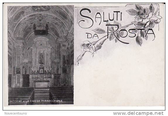 PIEMONTE - Torino -Rosta -Saluti - Sin Clasificación