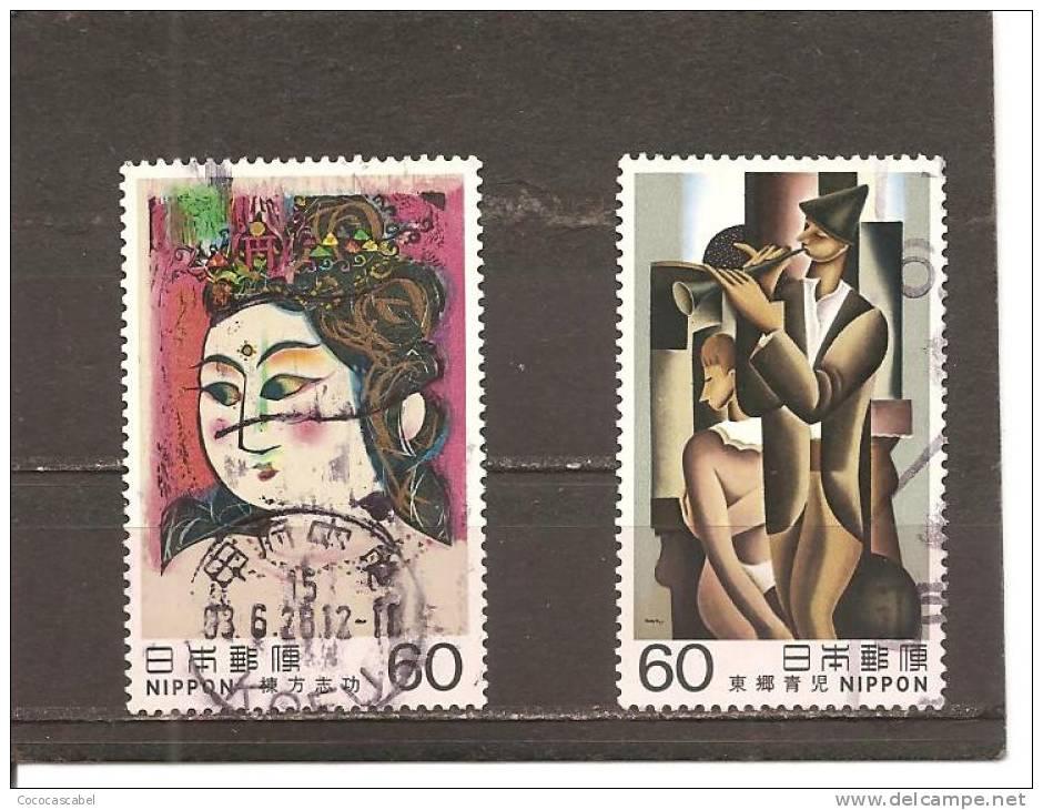 Japón   Nº Yvert   1436-37 (usado) (o). - 1926-89 Imperatore Hirohito (Periodo Showa)