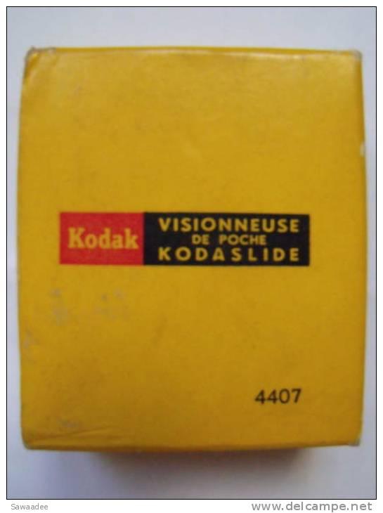 PHOTOGRAPHIE - ACCESSOIRE - VISIONNEUSE DE POCHE - KODASLIDE - KODAK 4407 - Prismen