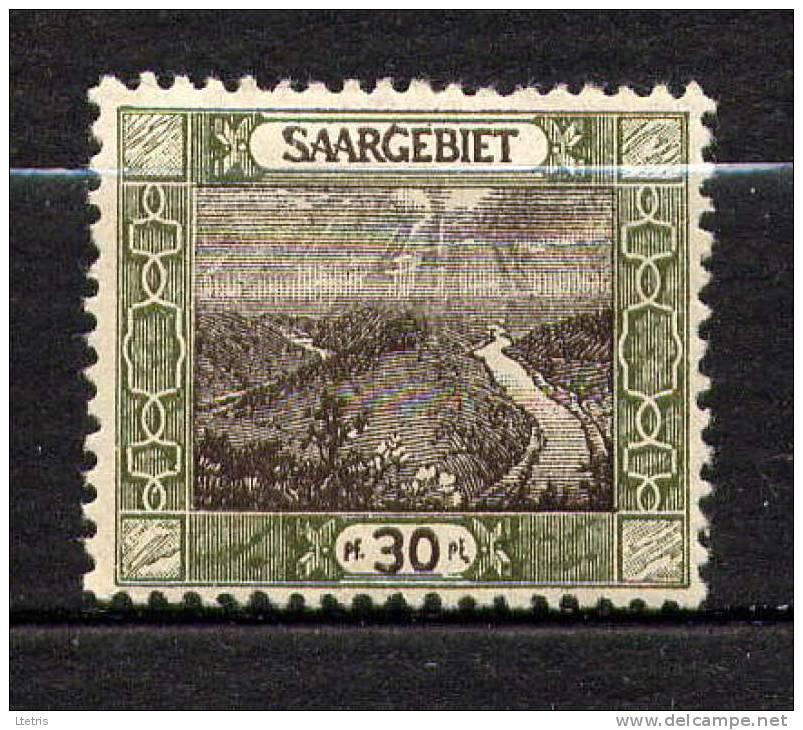 SARRE  - N° 57a* - GRANDE BOUCLE DE LA SARRE - Saargebiet