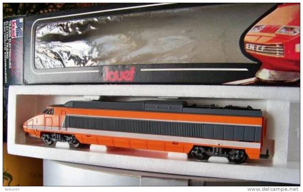1 locomotive electrique tgv ho 8631 jouef neuve annee 1980. Black Bedroom Furniture Sets. Home Design Ideas