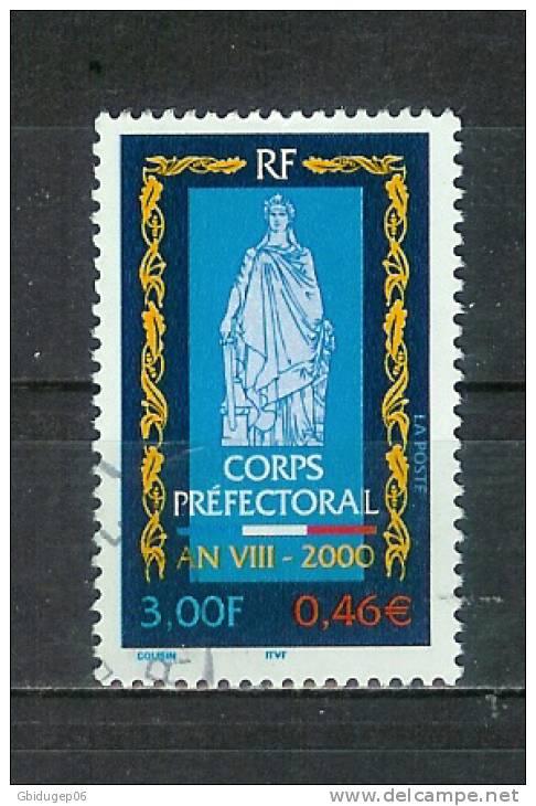 YT N° 3300 - Oblitéré - 200e Corps Préfectoral - Frankreich