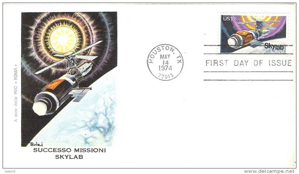 USA 1er JOUR / FIRST DAY - 1974 - 1851-1940