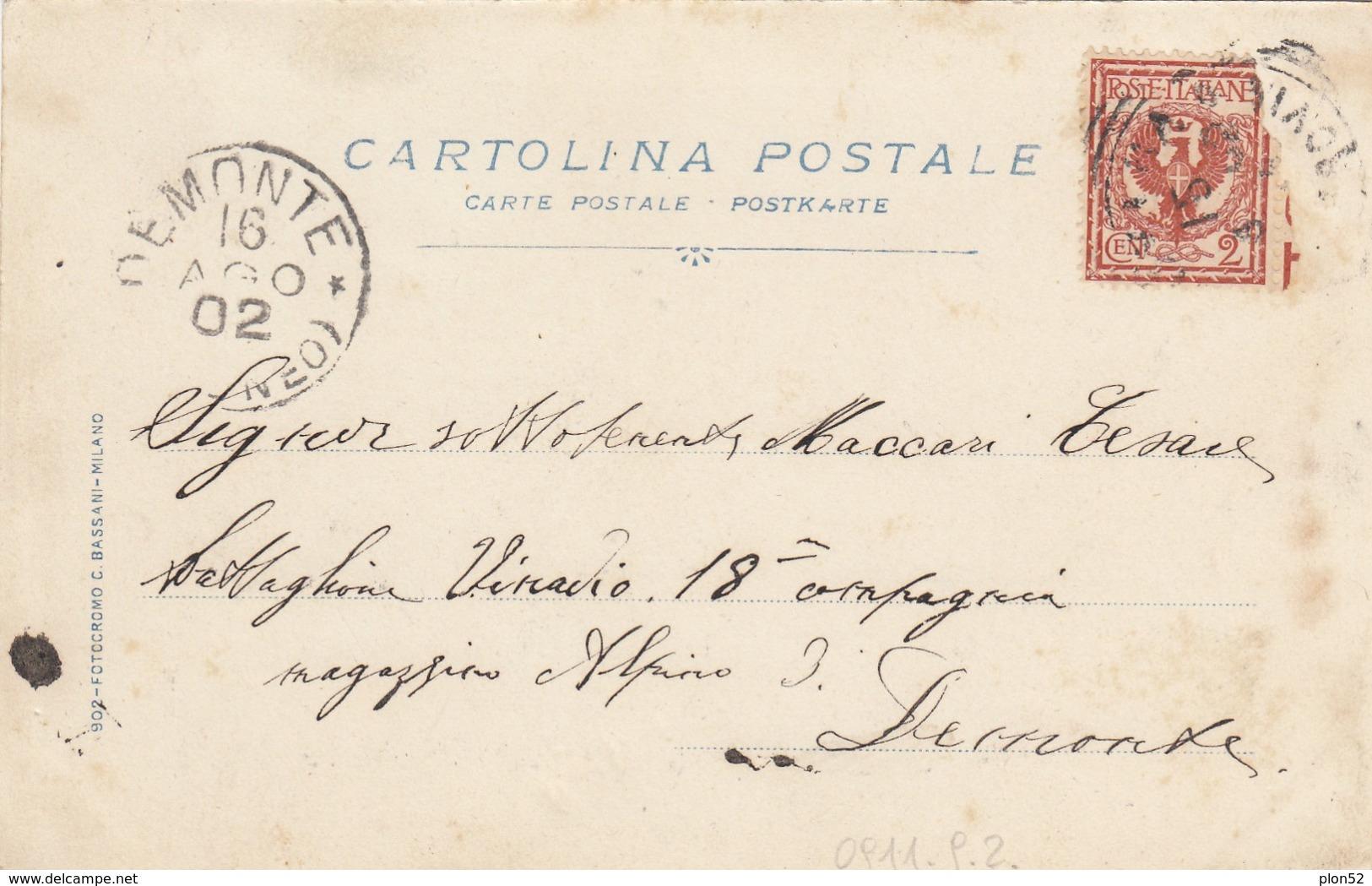 6001-NOVARA-CORSO GARIBALDI-1902-FP - Novara