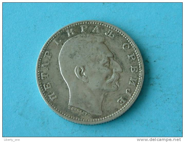 1912 - 1 DINAR / KM 25.1 ( For Grade, Please See Photo ) ! - Serbie