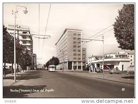 MESTRE ( VENEZIA ) CORSO DEL POPOLO - 1958 - Venezia (Venice)