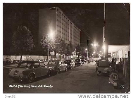 MESTRE ( VENEZIA ) CORSO DEL POPOLO - 1958 ( A ) - Venezia (Venice)