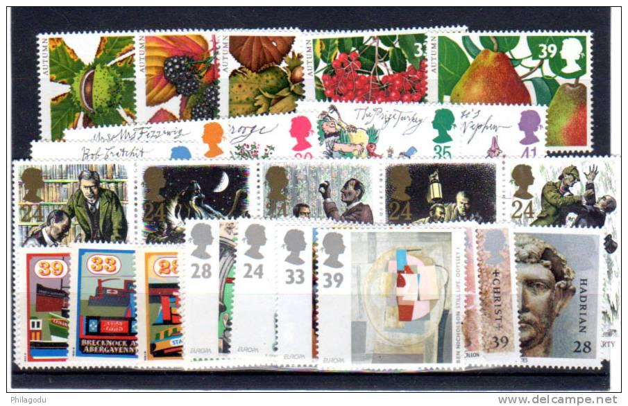 1993 Séries ** Europa, Bretagne Romaine, Canaux,  Fruits Entre 1674 Et 1708**, Cote 45 €, - 1952-.... (Elizabeth II)