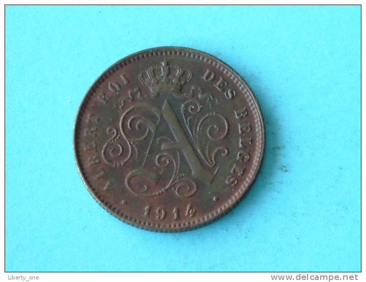 1914 FR / 2 Cent - Morin 314 ( For Grade, Please See Photo ) !! - 1909-1934: Albert I