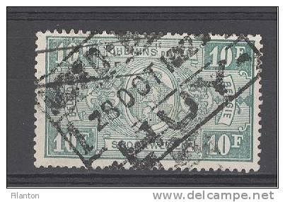 """BELGIE - OBP Nr TR 162 - Spoorwegen/Chemins De Fer - Cachet  """"NORD-BELGE - HUY""""  (ref. Nr 522) - Bahnwesen"""