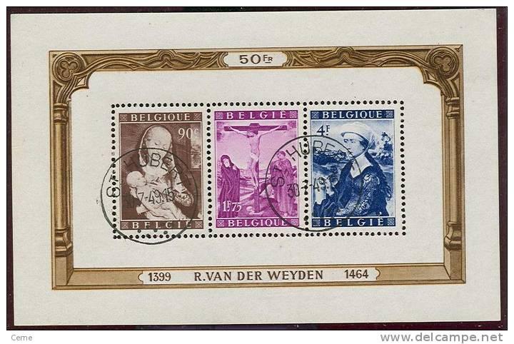 "Belgique - Bloc No 28 Oblitéré ""St Hubert"" , Luxe TB - Blocks & Kleinbögen 1924-1960"