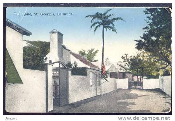 US226 BERMUDA - ST GEORGES , THE LANE - Bermudes