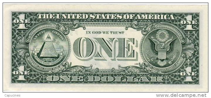 1 Dollar US (1988) F94102143R - Large Size - Taglia Grande (...-1928)