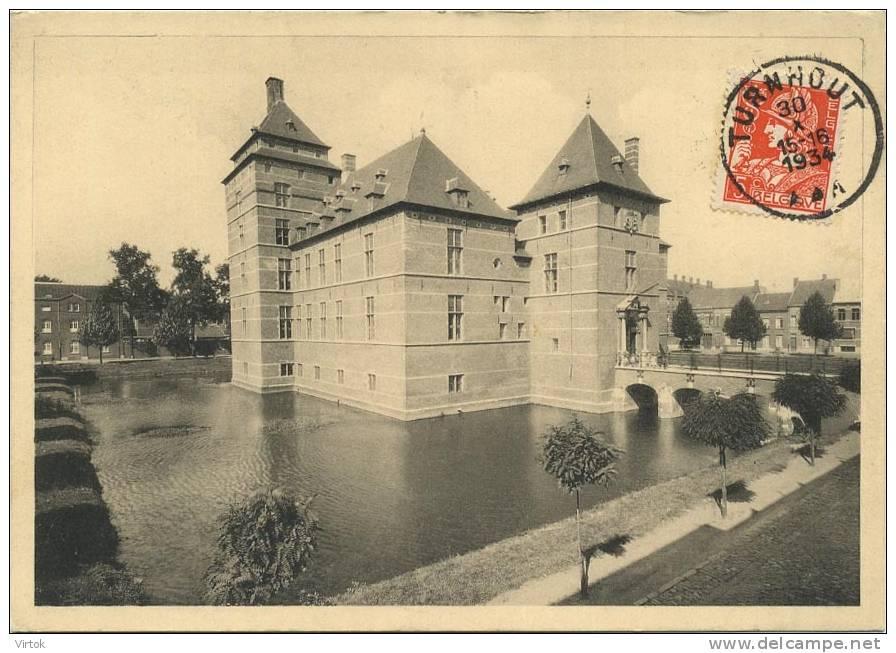 Turnhout :  Historisch Kasteel , Nu Gerechtshof  ( Groot Formaat ) - Vosselaar