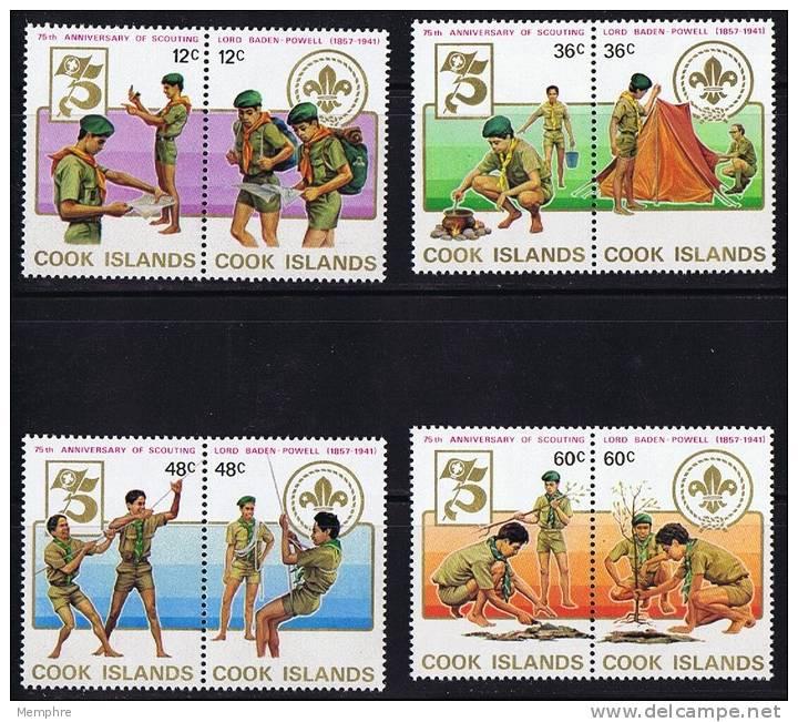 COOK ISLANDS 1983  Scouts  Sc 700-3  ** MNH - Cook Islands