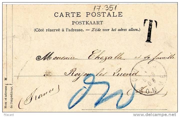 "17351    Belgio,  Grotte  De  Han,  L""Alhambra,  VGSB  1905 - Rochefort"