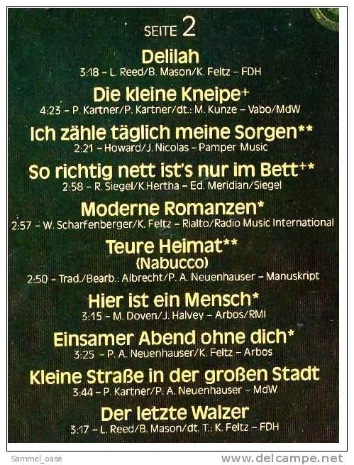LP  Peter Alexander – Das Goldene Schlageralbum  -  Von Ariola 200 250-501  - Jahr 1979 - Sonstige - Deutsche Musik