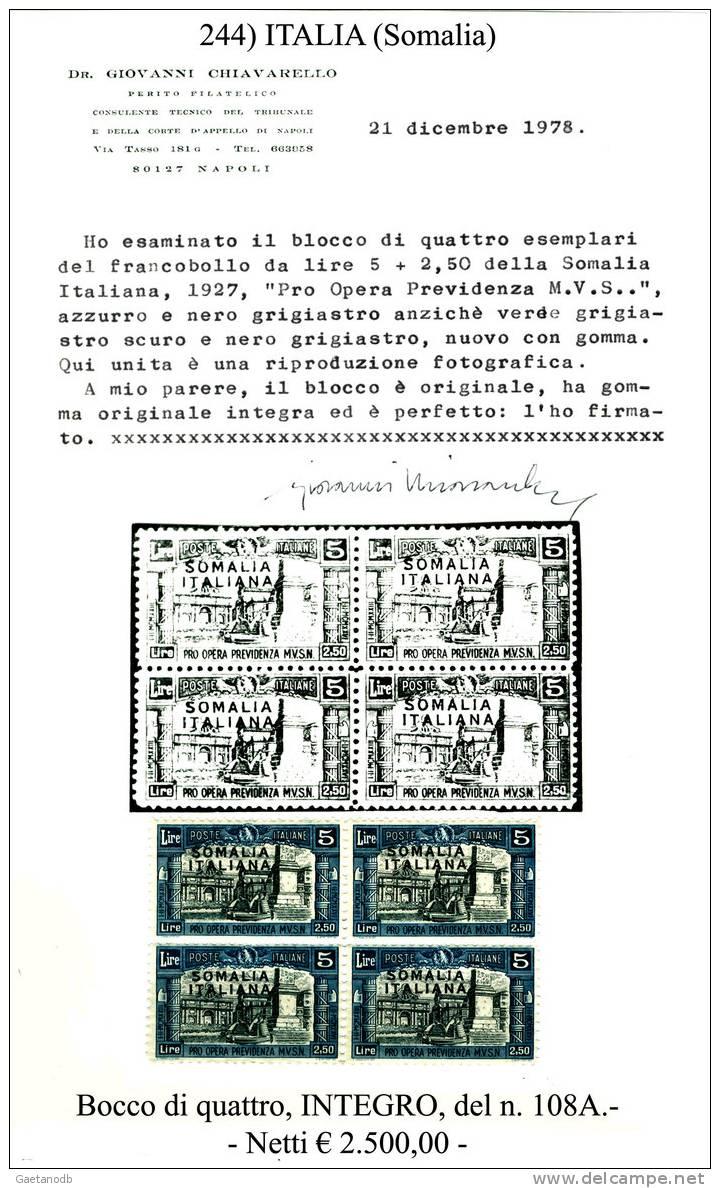 Italia-F00244 - Somalia