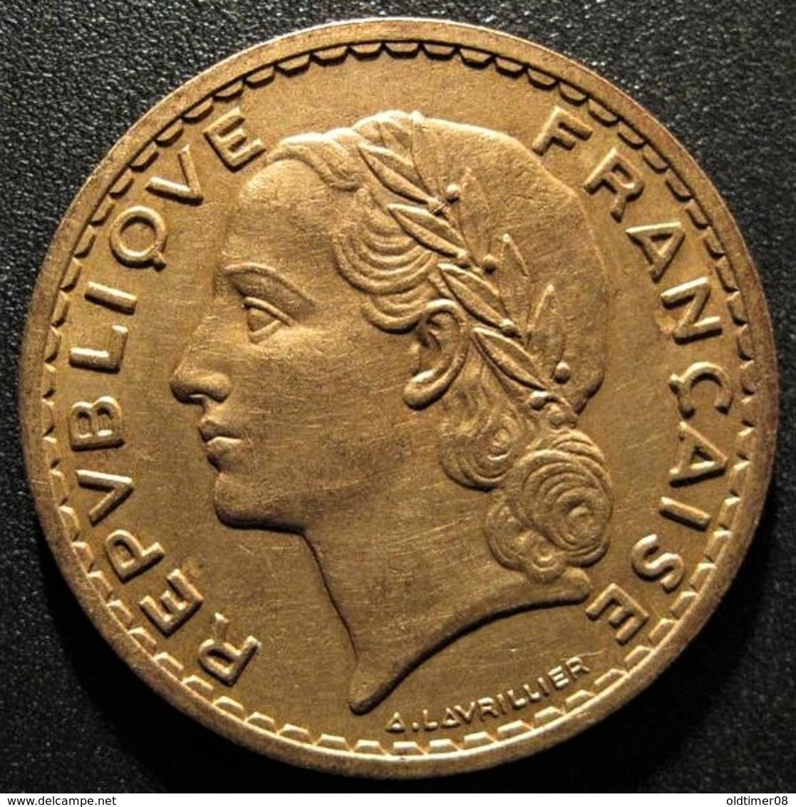 5 Francs LAVRILLIER Bronze-Aluminium 1940, SUP+ - France