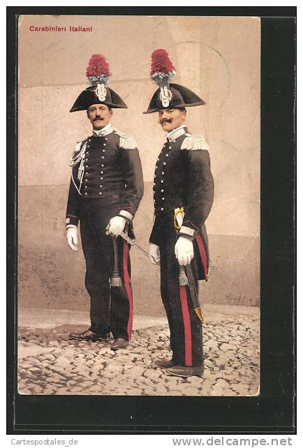 CPA Carabinieri Italiani, Polizei - Polizia – Gendarmeria