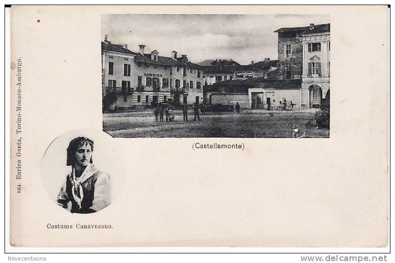 PIEMONTE - Torino - Castellamonte Canavese -Albergo Dei Tre Re, Peso Pubblico E Costume Canavesano - Sin Clasificación