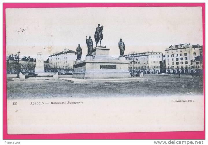 PTS -130 - CORSE -  AJACCIO -  Monument Bonaparte - Ajaccio