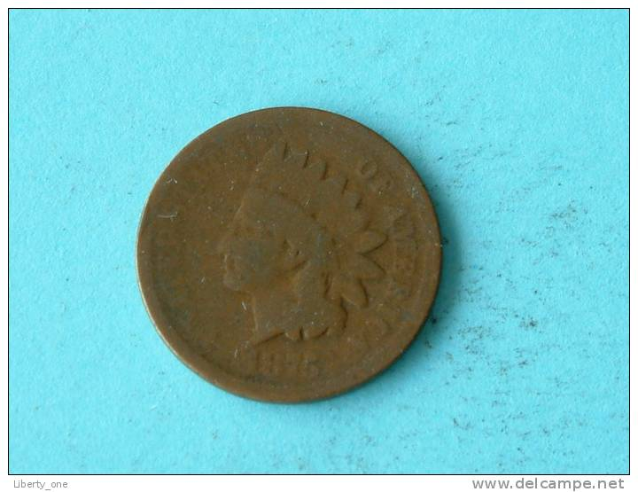 1875 - ONE CENT / KM 90a ( For Grade, Please See Photo ) ! - Emissioni Federali