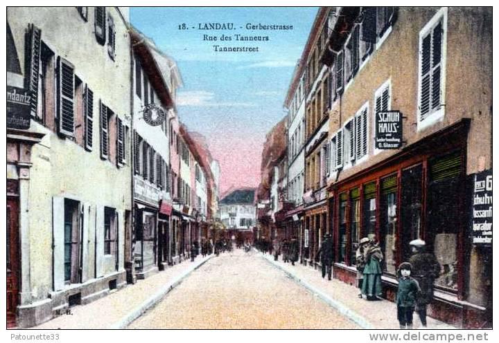 ALLEMAGNE LANDAU  GERBERSTRASSE COULEUR - Landau
