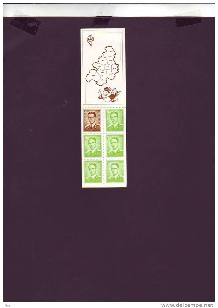 BELGIQUE  1970 - Yvert  C1562** - - Carnets 1953-....