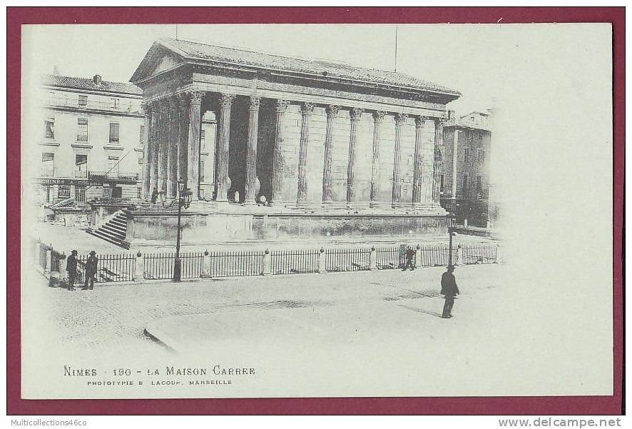 30 - NIMES - La Maison Carré - Nîmes
