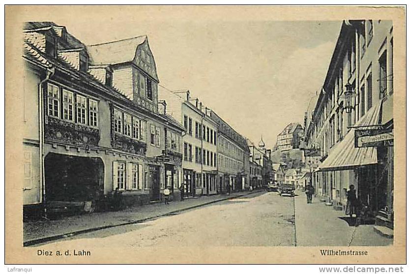 Allemagne -ref 384- Diez A D Lahn - Willehlmstrasse  - Carte Bon Etat - - Diez