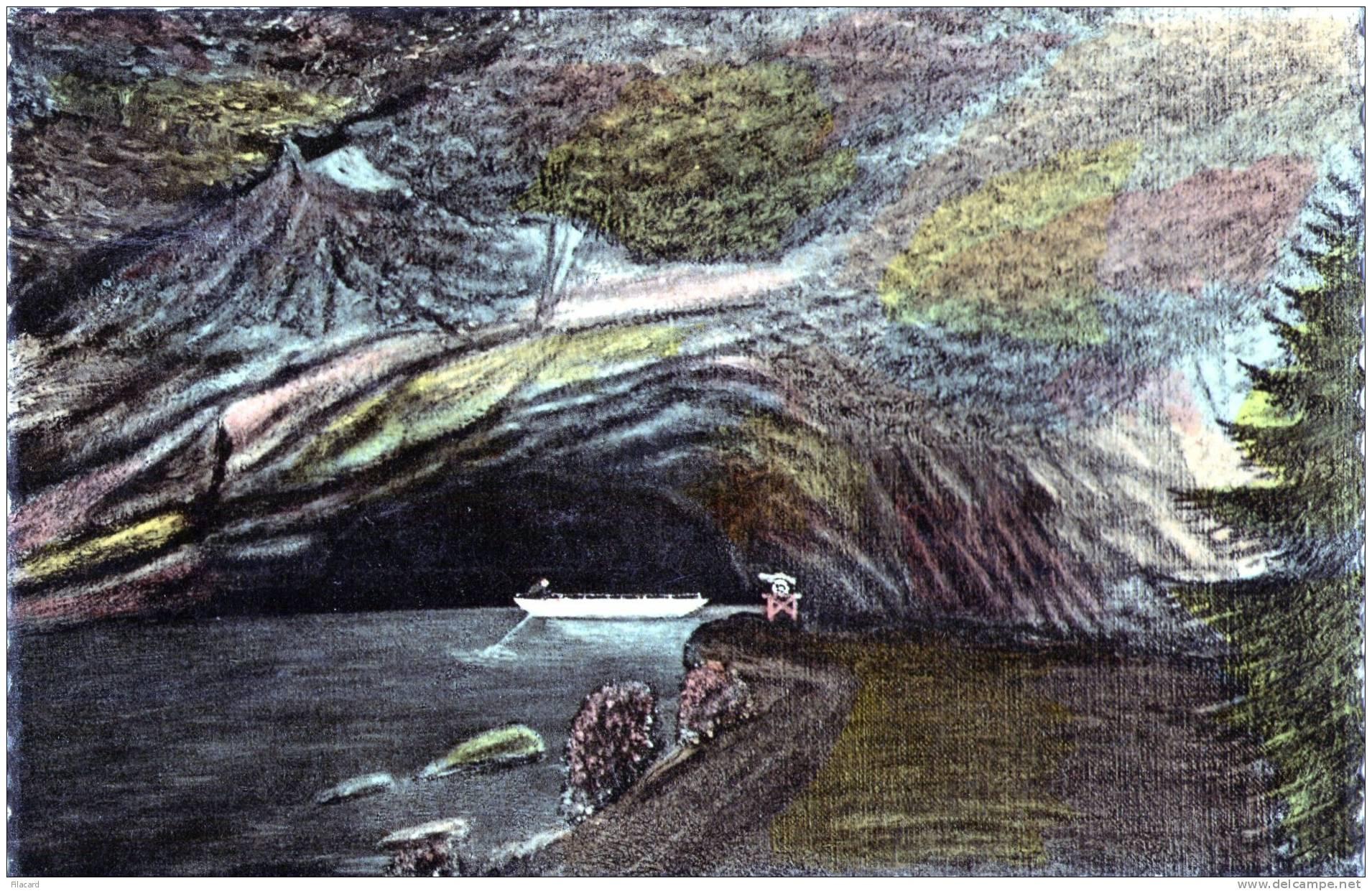 17743    Belgio,  Han-sur-Lesse,   La  Sortie  Des  Grottes,  VG - Rochefort