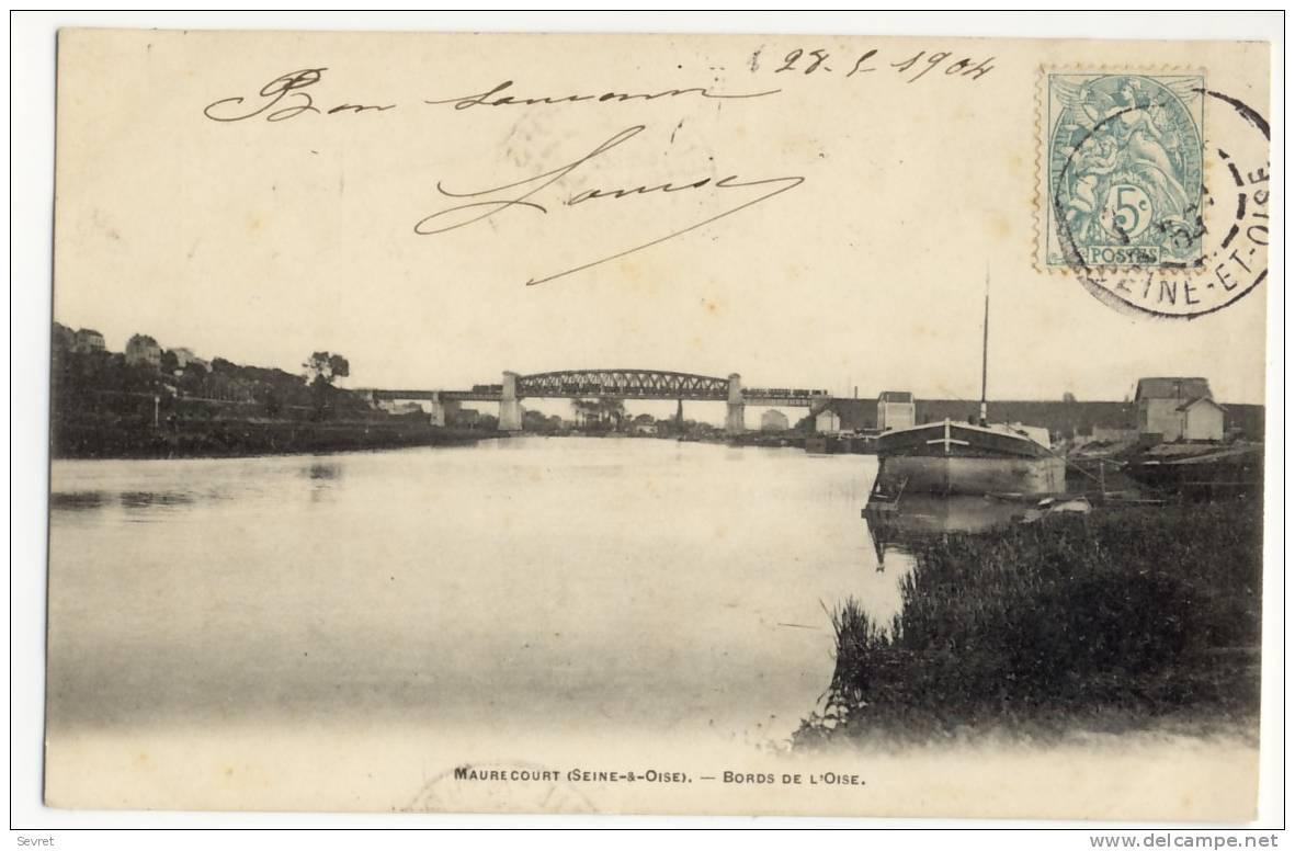 MAURECOURT. -  Bords De L'Oise - Maurecourt