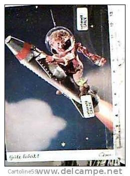 MEKI SU MISSILE  RAZZO PER LUNA VA IN ORBITA  VB1996 DG7405 - Mecki